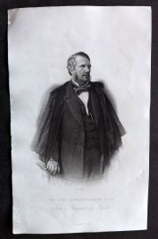 Nolan - India C1880 Antique Portrait Print. John Lawrence
